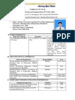 contoh pembuatan CV