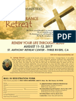 Retreat August 2017