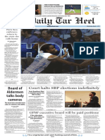 The Daily Tar Heel for March 1, 2017