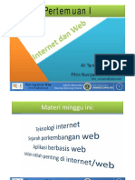 Materi 01-Internet Dan Web