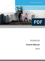 PLAXIS 3D Tutorial Manual 2016
