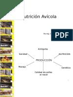 NUTRICIÓN AVíCOLA 2016