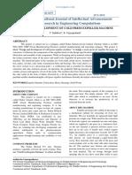 DESIGN AND DEVELOPMENT OF COLD PRESS EXPELLER MACHINE.pdf