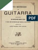 Novo Methodo de Guitarra. Anno Domine. m. Dccc. Lxxxix.