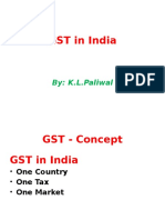 GST in India Law ITsystem and Business