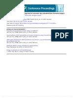 Effect of Acidity on the Energy Level of Curcumin Dye Extracted From Curcuma Longa L.