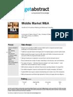 Middle Market Manda Marks en 17141
