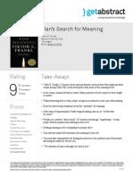 Mans Search for Meaning Frankl en 25382