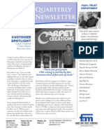 F&M Bank Summer 2010 Newsletter