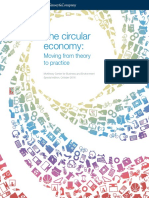 The Circular Economy Moving From Theory to Practice