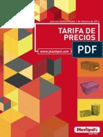 tarifas_2016 PLASTIPOL