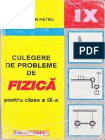 V.M.Pătru - Culegere de Probleme de Fizică-clasa a IX-a