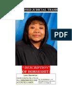Certified Judicial Trash - Defendant Corrupt Judge Charlene E. Honeywell