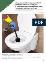 jasa Bersih Toilet Bandung - 0813 2245 3138