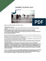 Sbarco in Normandia- La Storia Vera