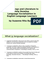 Byrnes - Powerpoint Socialinguistics and Bilingual Education for ESOL in Music
