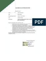 Surat Pernyataan Publikasi Ilmiah