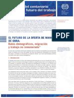 OIT 2EL FUTURO DE LA OFERTA DE MANO DE OBRA