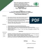 8.1.1.1 SK Tentang Jenis – Jenis Pemeriksaan Laboratorium Yang Tersedia, PUSKESMAS TEUPAH BARAT, SIMEULUE