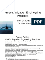 Irrigation Lecture 1 ( Full )