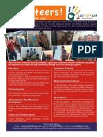 Volunteering Programs in India