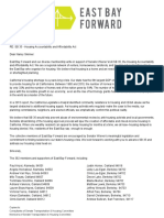 Letter in support of SB 35