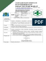 8.1.1.3 Persyaratan Kompetensi Analis Petugas Laboratorium,PUSKESMAS TEUPAH BARAT