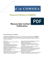 Journal in COMSEA General Guide