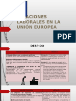 Relaciones Laborales en La Union Europea