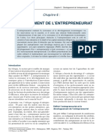Rapport Sur Le Développement en Afrique 2011 - Chapitre 6-Développement de l'Entrepreneuriat