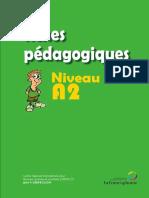 15 Fiches Pédagogiques Niveau A2