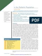 Encephalitis in the Pediatric Population