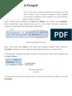 Mengatur Format Paragraf _ Plengdut