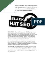Curso de Ferramentas de Black Hat