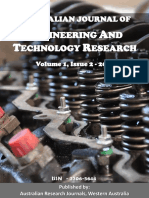 Australian Journal of Engineering and Technology Research