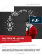 Iso 31000 Lead Manager 4p