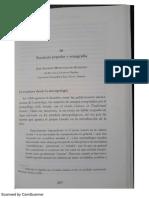 Escritura Popular e Etnografia