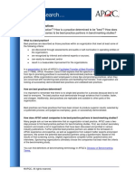 DearInfosearch - Best Practice Definition