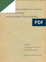 Johanna Budwig - Die elementare Funktion der Atmung in ihrer Beziehung zu autoxydablen Nahrungsstoffen