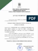 Aviz Tehnic b500c Scadenza 15-07-2017
