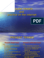 Ang Ref English Tenses and Practice on the Internet Predstavitev 01