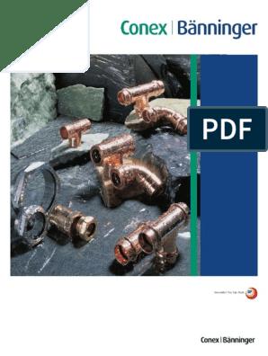 Bänninger CU-Press Fitting Reduziermuffe Red-Muffe 22x18 P5240