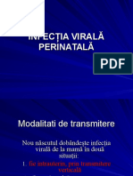 Curs 6 Infectii Perinatale 8.03.2013