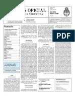 Boletin Oficial 08-07-10 - Segunda Seccion