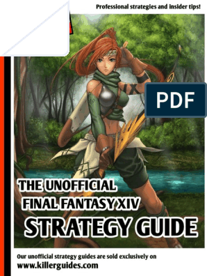 The Unofficial Final Fantasy XIV Strategy Guide pdf   Final