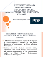 New Information and Communication Technologies, Social Development