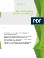 Geologic Processes Within the Earth's Surface