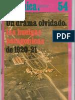 Susana Fiorito - Huelgas patagónicas 1920-1921
