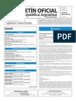 Boletín Oficial de la República Argentina, Número 33.575. 01 de marzo de 2017