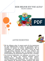 Como Leer Mejor Felipe Garrido